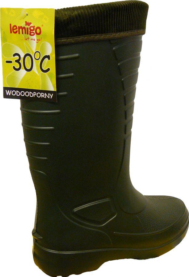 ad546994 KALOSZE zimowe BUTY OCIEPLANE WODOODPORNE LEMIGO - Explico - Twoje ...
